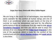 Take Benefits From Fridge Repair Singapore