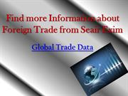Find more Information about Foreign Trade from Seair