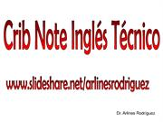 0. Crib Note Ingles Tecnico
