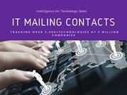 IT Mailing Contacts - Technology users list