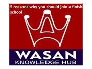 5 reasons why you should join a finishing school