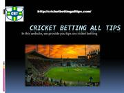 cricket betting prediction- Cricketbettingalltips.com- cricket session