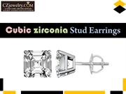 Amazing Cubic Zirconia Stud Earrings Collection - CZ Jewelry