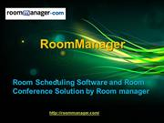 Room Scheduling Software and Room Conference Solution by Room manager