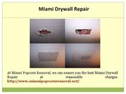 Miami Drywall Repair