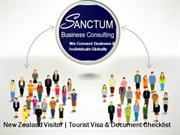 Looking for new Zealand Visitor visa - Contact Sanctum Consulting