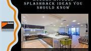 Modern Kitchen Splashback Ideas you should know