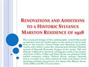 Renovations and Additions to a Historic Sylvanus Marston