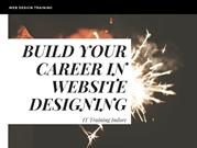 Effective Web Design Training – IT Training Indore