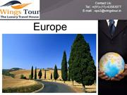 europe holiday packages