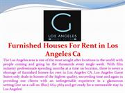 Furnished Houses For Rent in Los Angeles Ca