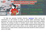 Influence of author subtitles' availability on YouTube search result r
