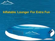 Inflatable Lounger For Extra Fun
