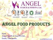 Angel Starch Food Products Presentation