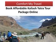 Book Affordable Kailash Yatra Tour Package Online