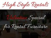 High Style Rentals - Valentine Special For Rental Furniture