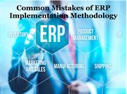 Common Mistakes of ERP Implementation Methodology