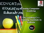The Leading C++ Training Institute in Kolkata