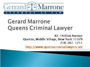 Queens Criminal Law Firm Gerard Marrone