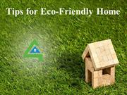 Tips for Eco-Friendly Home
