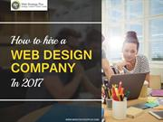 How to Hire a Web Design Company in 2017