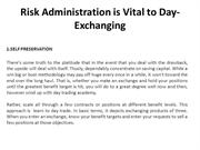 1.ppt-Risk administration is vital to day-exchanging