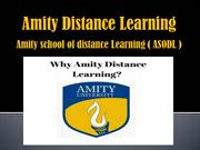 Review about Amity Distance Learning by distance education delhi