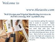 Best Web Design and Development Services North Conway By TheiaSite