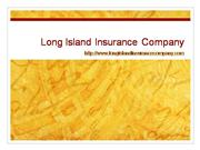 Long Island Health Insurance Company
