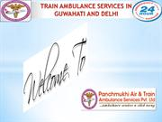 Need Low Cost Panchmukhi Train Ambulance Services in Patna and Delhi