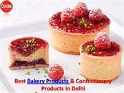 Manufacturers of Bakery and Confectionery Products in India