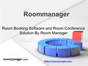 Room Booking Software and Room Conference Solution By Room Manager