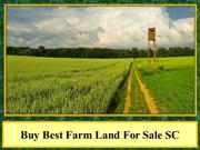 Buy Best Farm Land For Sale SC