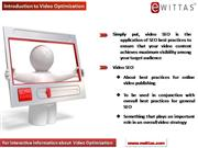 wittas Video Optimization services