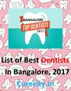 List of Best Dentists of Bangalore - Curecity