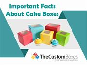 Important Facts about Cake Boxes