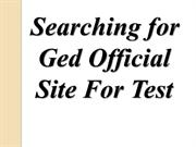 Ged Official Site
