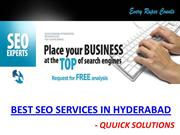 SEO Services In Hyderabad | SEO Companies in Hyderabad | Quuick