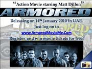 Win  Free Armored Movie Tickets