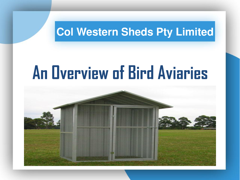 An Overview of Bird Aviaries  authorSTREAM
