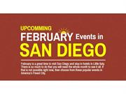 Upcoming February Events in San Diego