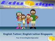English Tuition-Best English Tutor Singapore
