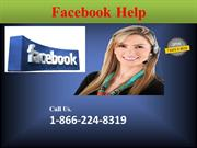 One Step For Facebook Help Hold On 1-866-224-8319