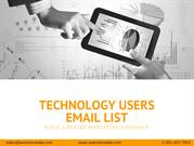 Technology Users Lists