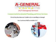 24/7 Emergency Services | Commercial Plumbing and Sewer Services
