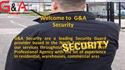 G&A  Security PPT