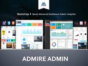 Responsive laravel and bootstrap admin templates