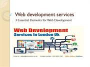 3 Essential Elements for Web Development