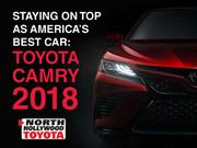 Staying on Top As America's Best Car: Toyota Camry 2018