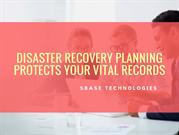 Disaster Recovery Planning Protects Your Vital Records